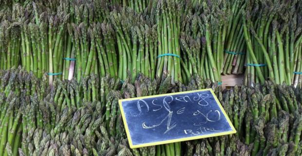 Asparagus, Rabastens market, France