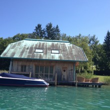 Boathouse, Worthersee